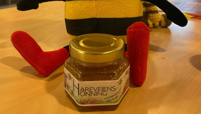 HONNING: Hareveien barnehage er kjent for sin honning-produksjon