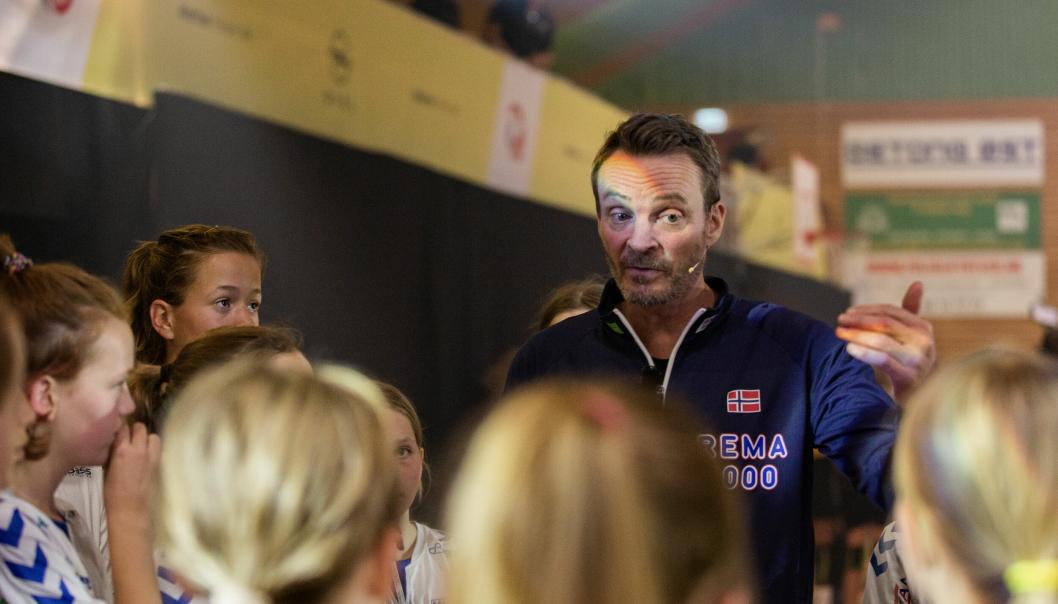 STYRTE KIL: Christian Berge, landslagstrener for herrelandslaget, hadde ansvaret for Kolbotn.