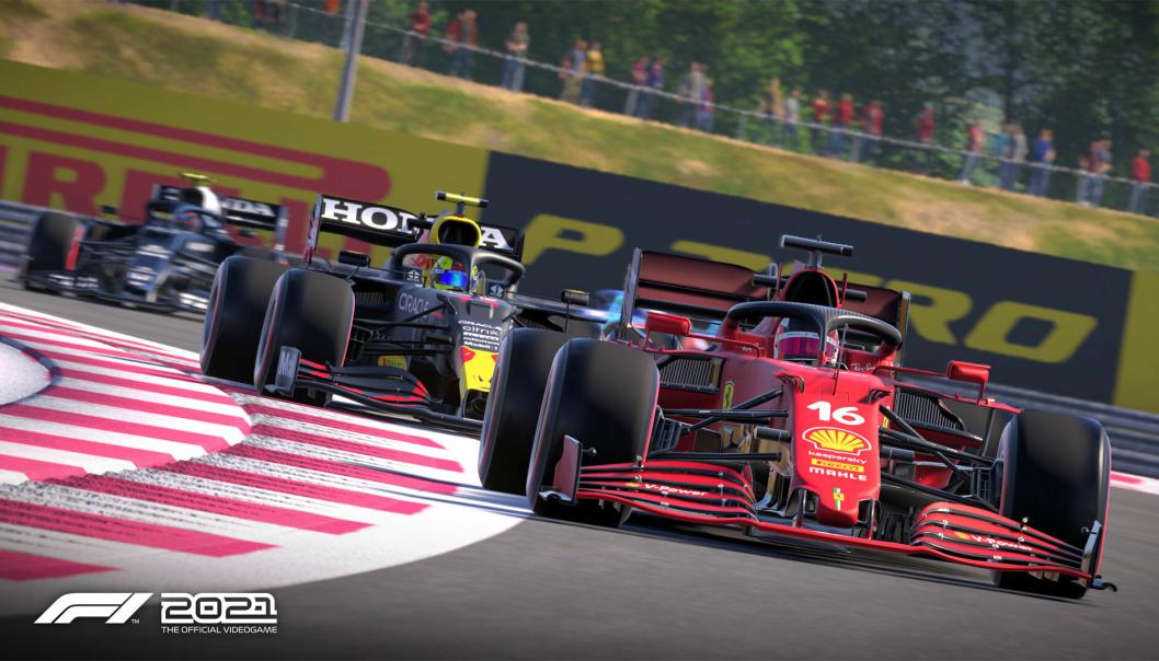 REALISTISK: Slik ser det ut i det nye spillet F1 2021.
