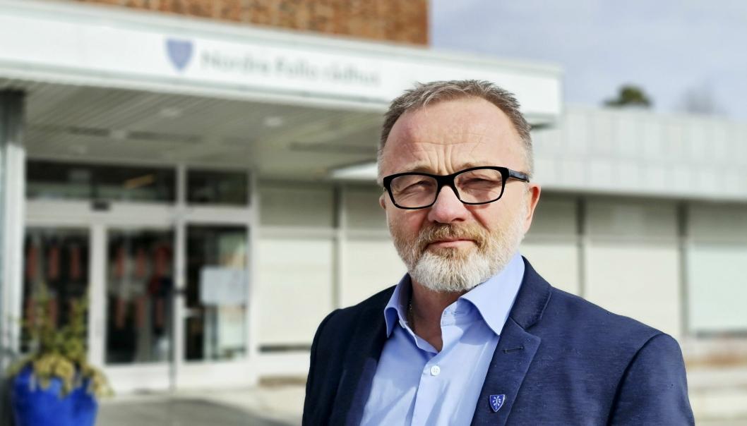FOKUS PÅ OMSTILLING: – Vi er nå godt i gang for å ta de grepene som er nødvendig og jobber målrettet med omstilling, sier kommunedirektør Øyvind Henriksen.