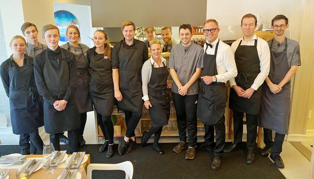 SKAL PÅ TUR: 16. oktober drar hele denne gjengen, og enda noen flere, på inspirasjonstur til Stavanger.