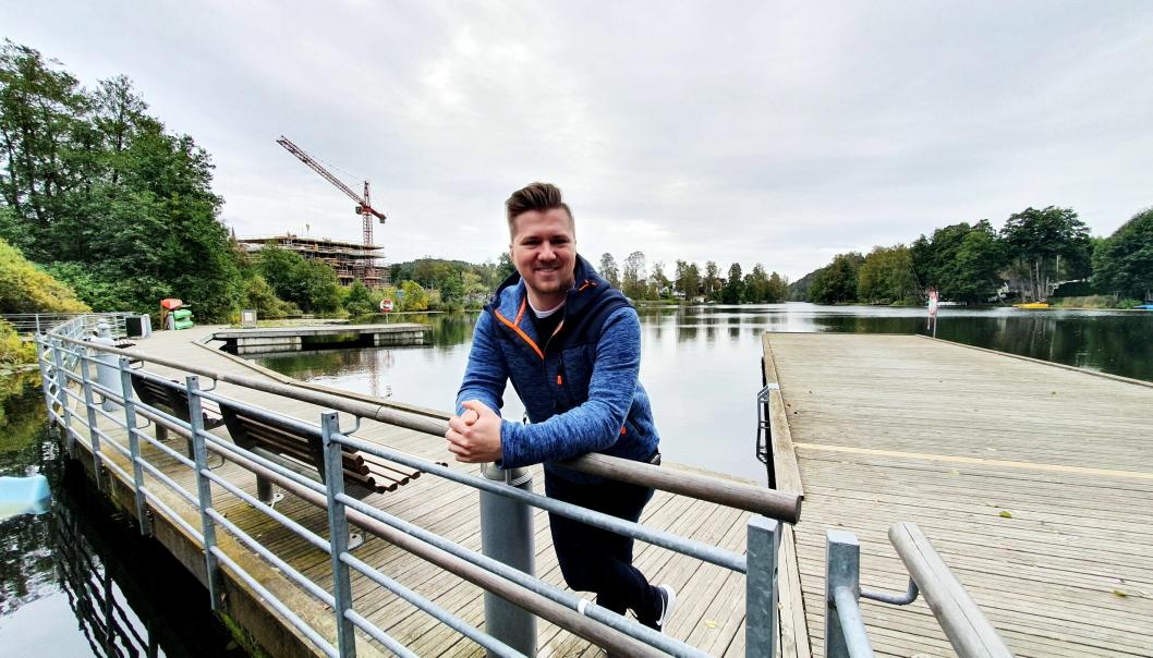 OPTIMISTISK: Den nybakte arkitekten har tro på at Kolbotnvannet kan bli friskmeldt innen 2050.