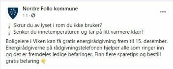 GRATIS ENERGIRÅDGIVNING: